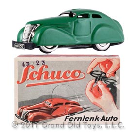 1938 Schuco Fernlenk Auto 3000 In Original Box