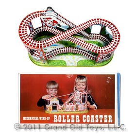 1964 Chein No 275 Roller Coaster In Original Box