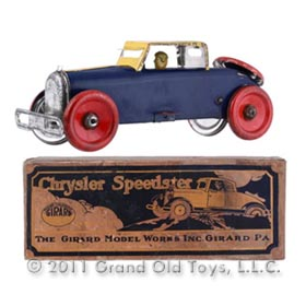 1926 Girard Mechanical Chrysler Speedster In Original Box