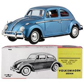 c.1965 Bandai, No.960 Volkswagen Sedan in Original Box