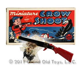 c.1952 Marx Miniature Crow Shoot In Original Box