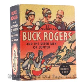 1935 Buck Rogers The Depth Men Of Jupiter Big Little Book