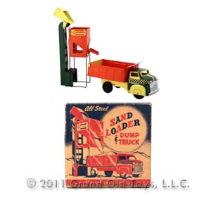 1954 Wyandotte Sand Loader Dump Truck In Original Box