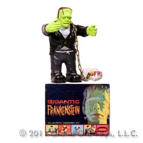 1964 Aurora Gigantic Frankenstein In Original Box