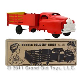 1951 Banner No 601 Delivery Truck In Original Box