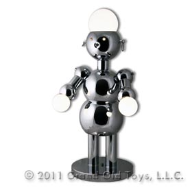 1970 Torino 3 Way Chrome Plated Italian Robot Lamp