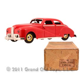 1950 JEP Delage Clockwork Electric Coupe In Original Box