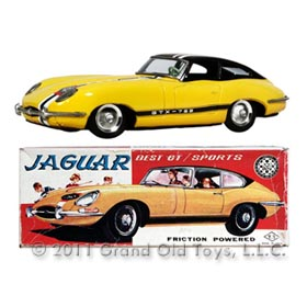 c.1961 Takatoku, Jaguar XKE GTX 753 Roadster In Original Box