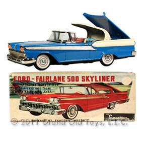 1959 Yachio Ford Fairlane 500 Skyliner In Original Box