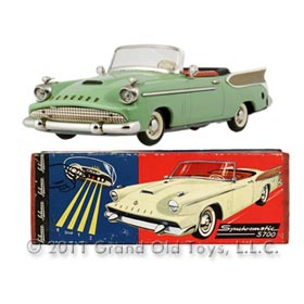 1958 Schuco Synchromatic 5700 Packard Hawk In Original Box