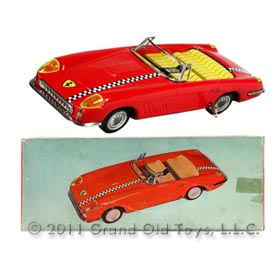 1965 Siro Ferrari Super America Convertible In Original Box