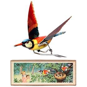 c.1950 Ruhl, Oriole Feeding Chicks in Original Box