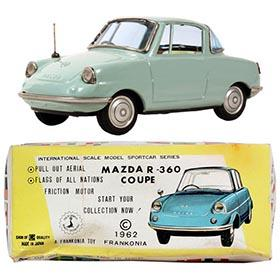 1961 Bandai, Mazda R360 2-dr Coupe in Original Box