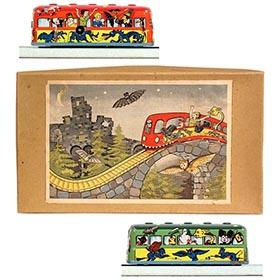 1952 Technofix, Geisterbahn (Ghost Train) in Original Box