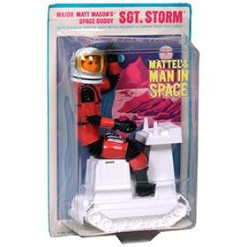 1967 Mattel Matt Mason's Buddy, Sgt. Storm on Factory Sealed Card