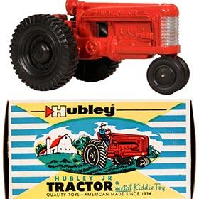 c.1960 Hubley Jr., No.472 Tractor in Original Box