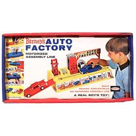 1964 Remco, Barney's Auto Factory, Sealed in Original Box