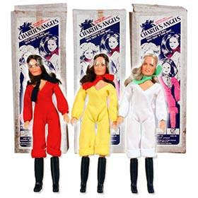 1977, All 3 Charlie's Angels Dolls in Original Boxes (1st Version)