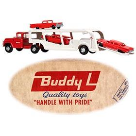 1962 Buddy L, No. 5436 Self-Loading Auto Carrier in Original Box