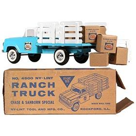 1961 Nylint Chase & Sanborn Ford Ranch Truck in Original Box