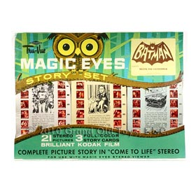 1966 Batman Meets Catwoman Factory Sealed Magic Eyes