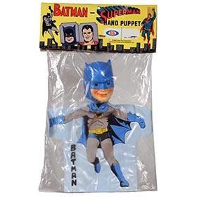 1965 Ideal, Batman Hand Puppet in Factory Sealed Bag