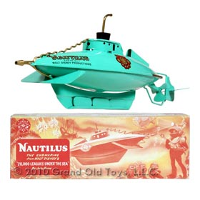 1954 Sutcliffe 20,000 Leagues Nautilus Submarine In Original Box