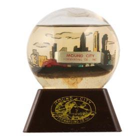 c.1950 Mound City Forwarding Co., Inc. Trucking Globe