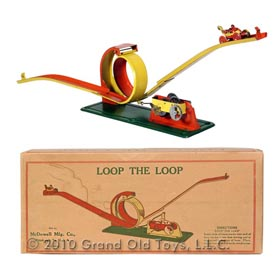 1925 McDowell Clockwork Loop The Loop In Original Box