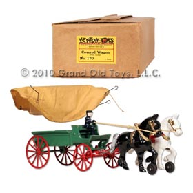 1951 Kenton Covered Wagon In Original Box