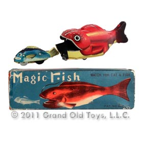 c.1956 TPS Magic Fish In Original Box