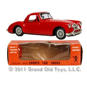 1964 Bandai MGA 1600 Mark II Coupe In Original Box