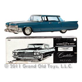 1960 Bandai Cadillac Fleetwood Sedan In Original Box