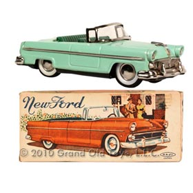 1956 Mansei Haji, New Ford Convertible In Original Box