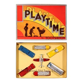 1948 Tootsietoy, Playtime Set 7100, Never Removed From Insertbox