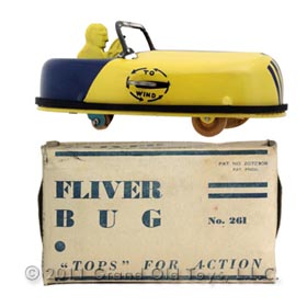 c.1929 No. 261 Buffalo Toy, Fliver Bug In Original Box