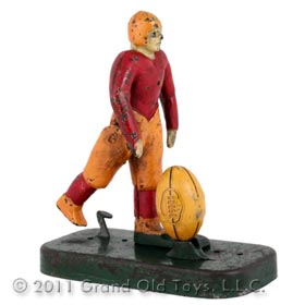 c.1925 Woolsey Mfg. Mechanical Football Kicker