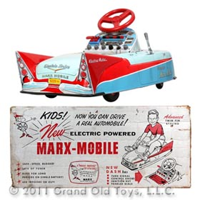 1959 Marx Electric Powered Marx Mobile In Original Box