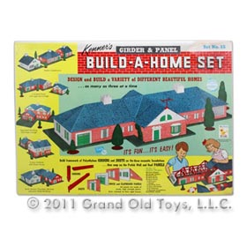 1962 Kenner Build-A-Home Set In Factory Sealed Box