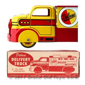 1952 Marx Deluxe Delivery Truck In Original Box