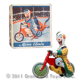 1951 Technofix No 264 Merry Clown In Original Box