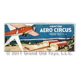 1932 Newton Mfg Co Aero Circus In Original Box