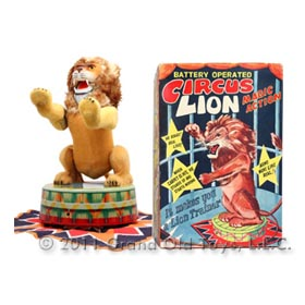 c.1953 VIA, Circus Lion In Original Box