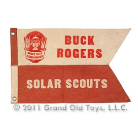 1936 Buck Rogers Solar Scout Premium Pennant