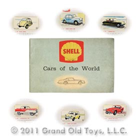 c.1963 Shell Of East Africa Cars Of The World Premium