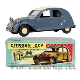 c.1961 Daiya Citroen 2cv In Original Box