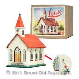 c.1946 Rohrseitz Nr 850 Loreto Church In Original Box