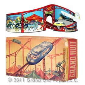 c.1954 Technofix Giant 8 Circus Monorail In Original Box