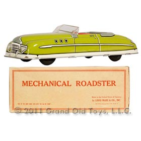 c.1949 Marx Mechanical Roadster In Original Box