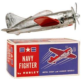 c.1946 Hubley No.467 Navy Fighter Plane in Original Box